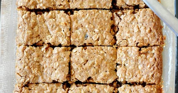 Chai-Spiced Oatmeal Raisin Bars | Recipe | Oatmeal Raisins, Oatmeal ...