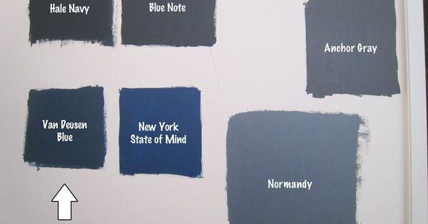 Ben Moore Hale Navy Van Deusen Blue Colors Pinterest