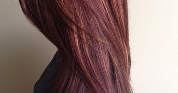 mahogany hair color with caramel highlights hair styles