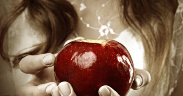 Take a bite, my dear Snow White.