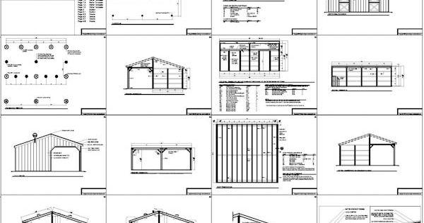 2 Stall Horse Barn Plans Barns Pinterest Horse Barn