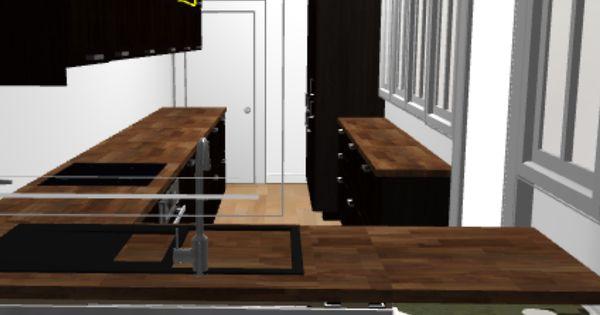 Projet Cuisine Ikea Avec Verri Re Laxarby Et Plan De