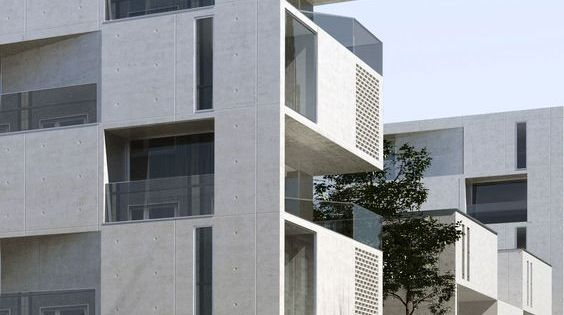 Aum minassian architectes logements collectifs ilot seguin for Architecture contemporaine paris