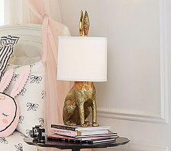 Lighting For Kids Rooms Nurseries Pottery Barn Kids Bunny Lamp Trending Decor Pottery Barn Lamps
