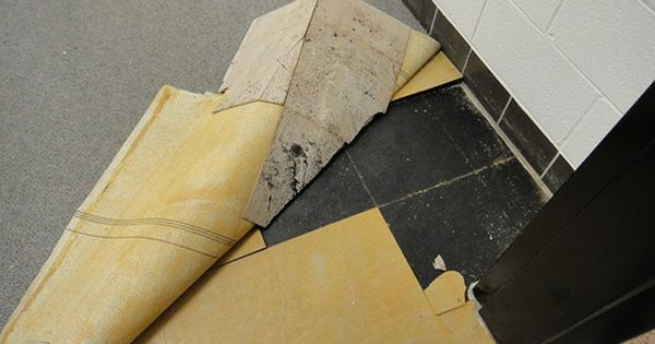 Removing Asbestos Containing Floor Tiles And Mastic Asbestos Removal Asbestos Tile Asbestos