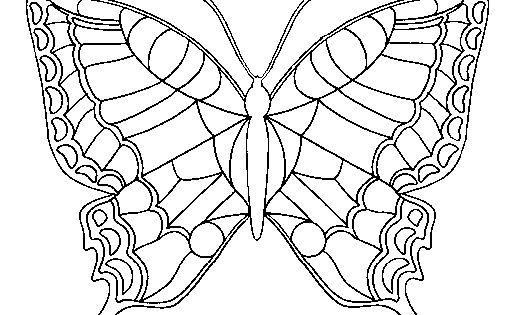 Dibujo De Mariposa Para Colorear En Linea Biblioteca De: Dibujo De Mariposa 16 Para Pintar Y Colorear En Línea
