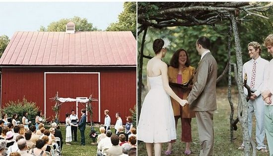 Rustic Wedding Ideas Love the outdoor barn wedding