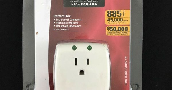 Ebay Sponsored Belkin Single Outlet Surgecube Surge Protector 885 Joules New Household Electronics Ups System Surge Protector