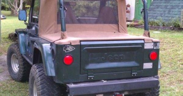 CJ Tailgate Conversion Kit for your TJ or YJ   Jeep wrangler, Tailgate, JeepPinterest