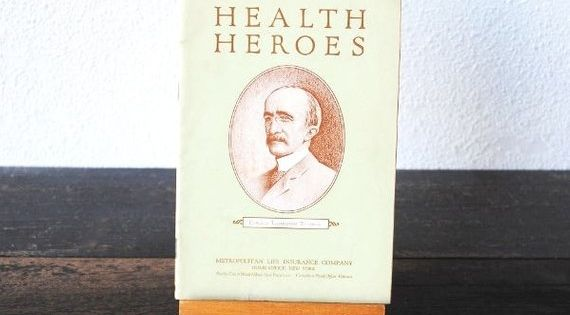 1948 Science Booklet Edward Trudeau Physician Public Health Vintage Antique Medical Book Health Heros Public