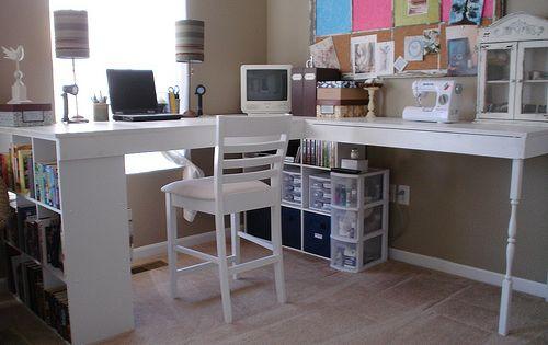 DIY craft desk idea