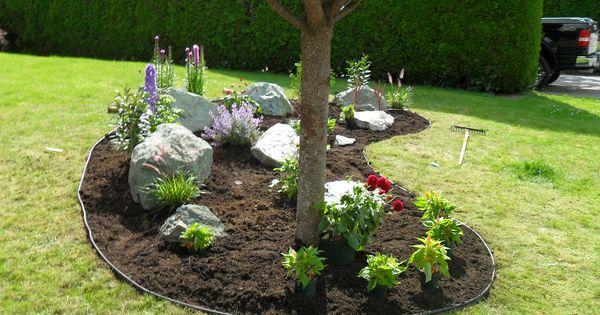 Easy DIY Landscaping Build A Rock Garden Gardens Landscaping And