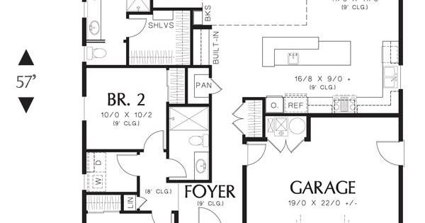 First floor image of featured house plan bhg 3086 for Thehousedesigners com home plans
