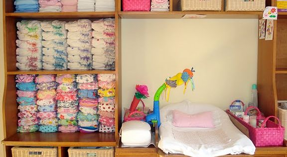 Cloth Diaper Storage I like this but I would LOVE this because