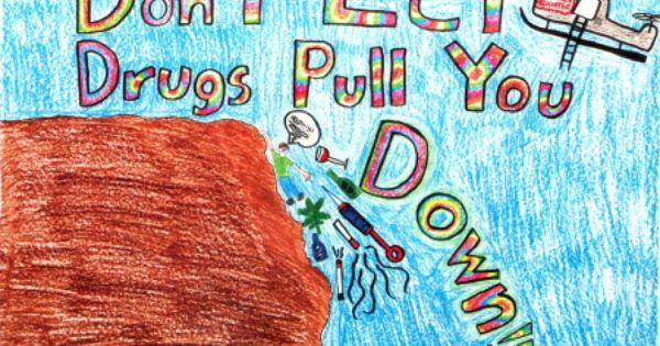 anti drug poster contest winners