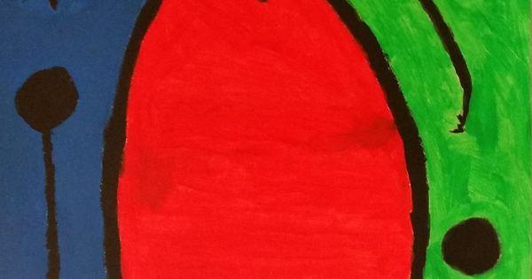 """""""El nacimiento del día"""" de Joan Miro. Sheila hizo esta ..."""