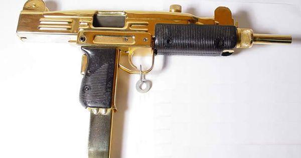gold mini uzi | guns | Pinterest | Minis, The o'jays and ...