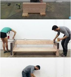 How To Build A Rustic Outdoor Sofa The Easy Way Rustic Outdoor Sofas Easy Home Decor Woodworking Projects Diy