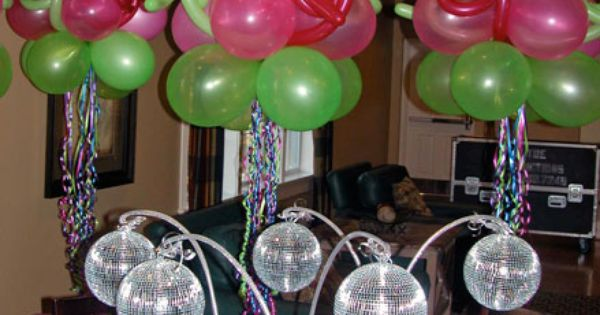 Centro mesa bolas boliche globos pinterest mesas - Ideas para discotecas ...