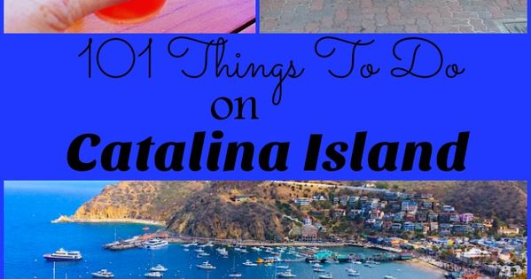 101 Things To Do On Catalina Island fun, Do and Islands