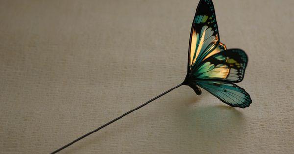 Japanese Butterfly Hairpin By Sakae Http Sakaefly Exblog