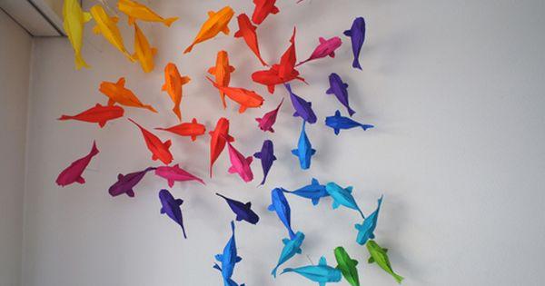 Origami Koi pond by Sipho Mabona koi fish paper origami art pond