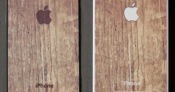 Apple Logo On Wood Print / BlissfulCase