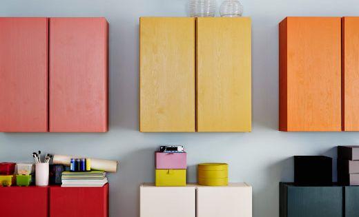 Ikea Wall Mounted Ivar Home Styling Pinterest