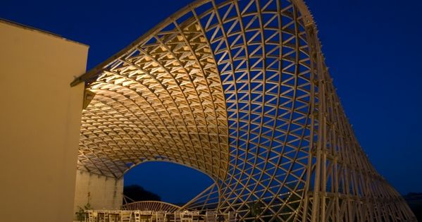 Trio gridshell architectural designs pinterest home - Modern architectural trio ...