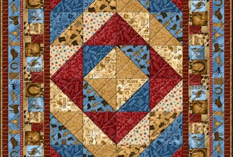 Ironwood Ranch Free Quilt Pattern By Wilmington Prints
