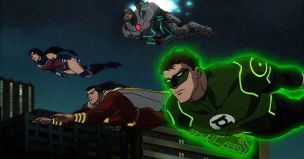 Pin By Lisa Rosovsky On Superheros Villans Justice League War Justice League Green Lantern Justice League