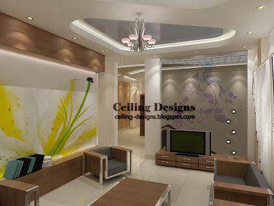 Best Ceiling Images On Pinterest False Ceiling Design - Ceiling design with spot light for living room pop false ceiling