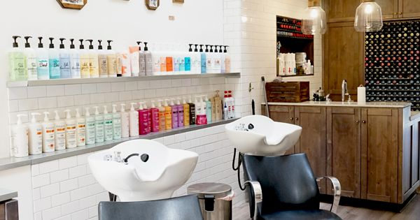 The Woodbridge Salon #sf #rustic #chic  Retail + Commercial Design  Pinterest ...