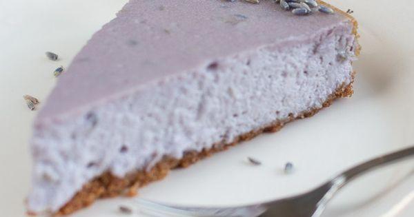 ein letztes st ck vom sommer lavendel cheesecake mit wei er schokolade schokoladen rezepte. Black Bedroom Furniture Sets. Home Design Ideas
