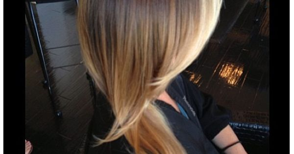 Gorgeous ombre. I might actually be down to do this, even though it is more brown than I am used to! haircolor beauty pmtslouisville paulmitchellschools hair lips inspiration ideas love colorofhair coloredhair http://www.pinterest.com/AnnaEEvents/boards/