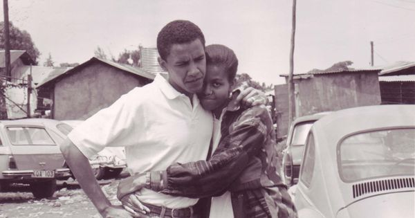 President Obama and First Lady Michell Obama.