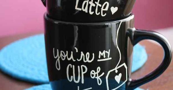Sharpie Mugs | 40 DIY Valentines Day Gifts Theyll Actually Want