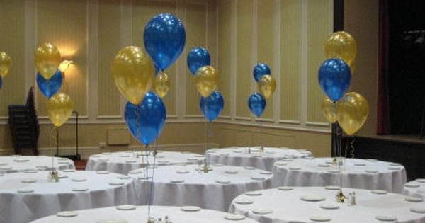 Blue Confetti Balloons /& Silver Star Balloons Included Navy Blue Pearl Balloons Elecrainbow 2 Sets Balloon Table Stand Kit with 1 Glittering Blue Table Cloth for Table Centerpieces Decorations