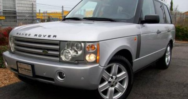 2005 Range Rover For Sale Used 2005 Land Rover Range Rover Hse For Sale Stock 2022 Range Rover Hse Land Rover Range Rover For Sale