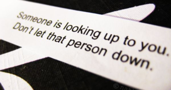 now THAT is a quality fortune cookie quote