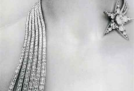 1932 Chanel shooting star diamond necklace partyatgatsby's