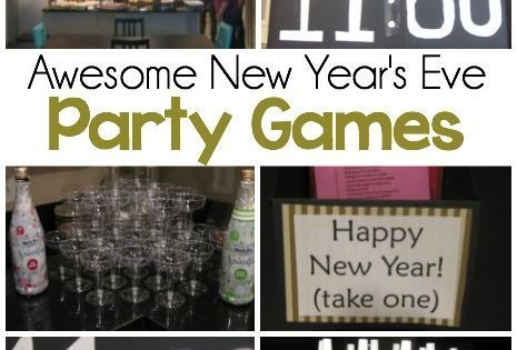 New Year's Eve Games | More Party games ideas