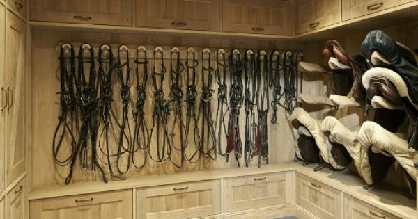 Tack Room With Great Storage Dream Barn Pinterest