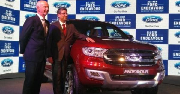 Ford Endeavour Launched In India Ford Endeavour Ford Endeavor