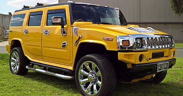The Tiger Yellow Hummer Limousine Meet Tiger The Super Cool 10