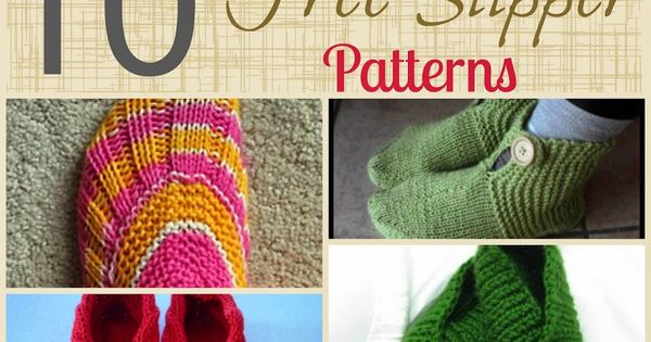 Free Knitting Pattern Gift Ideas : 10 free knitting patterns to make yourself a pair of ...