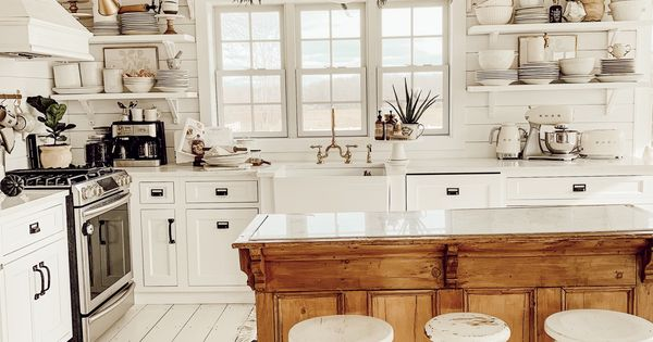Winter Farmhouse Kitchen Farmhouse Kitchen Design Home Decor Kitchen Kitchen Style