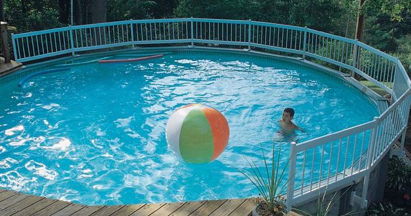 Piscine hors terre above ground pools piscines hors for Club piscine above ground pools prices