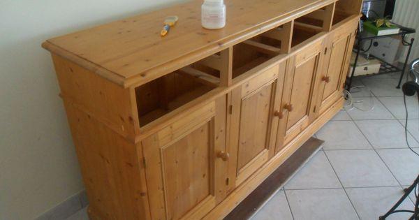 Repeindre meubles en pin meuble peinture pinterest for Repeindre meuble en pin