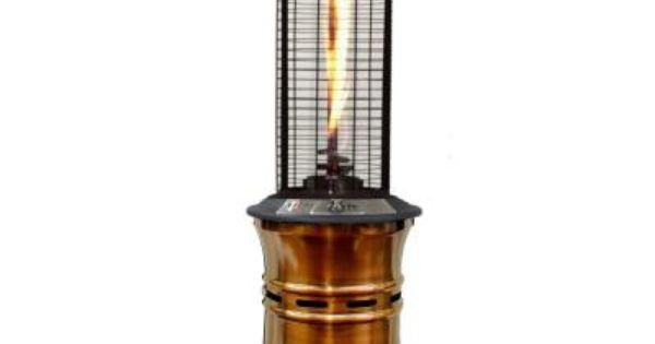 Lava Heat 51 000 Btu Copper Ember Propane Gas Patio Heater Lhi Ember 51btu Bc Lp At The Home Depot Best Patio Heaters